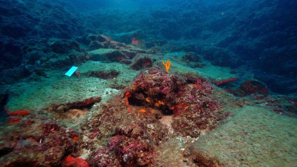 Antalya'da bulunan batıktaki 74 bakır külçe bulundu