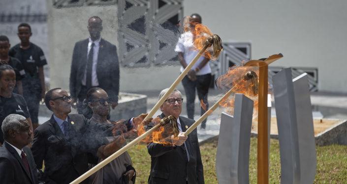 Ruanda Soykırımının 25. yılı anma töreni