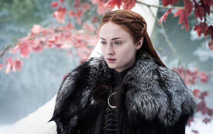 Sophie Turner, Game of Thrones'un final sezonuna yöneltilen eleştirilere tepkili: Saygısızlık