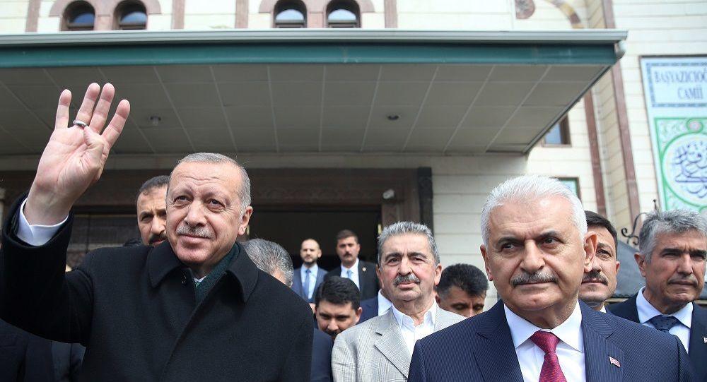 Binali Yıldırım - Recep Tayyip Erdoğan