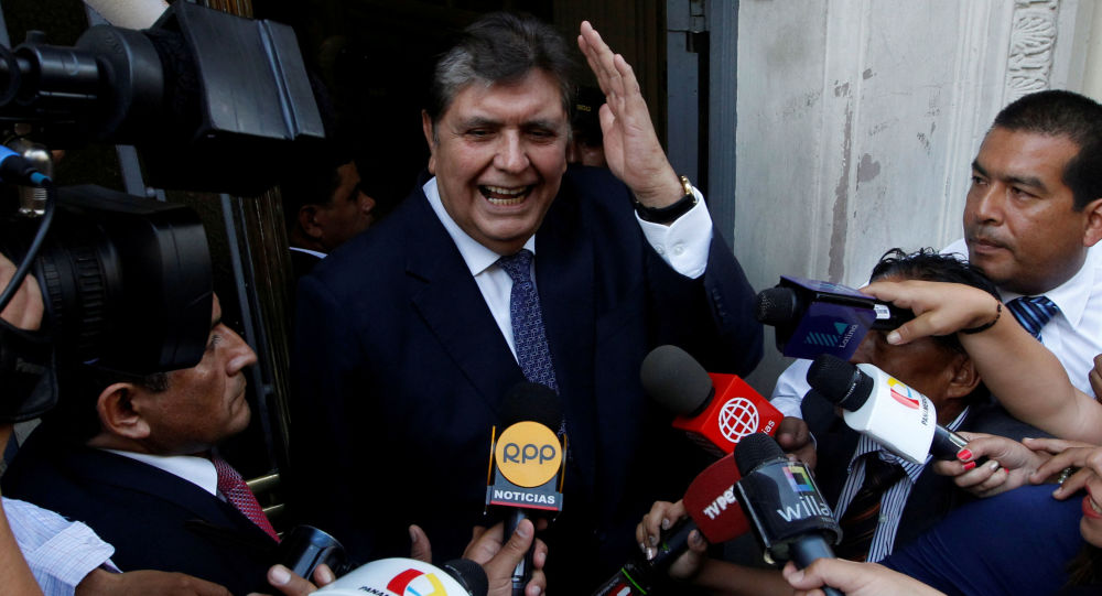 Eski Peru Devlet Başkanı Alan Garcia