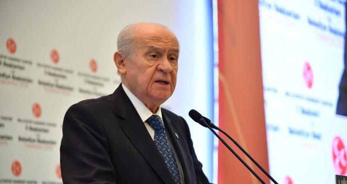MHP Genel Başkanı Devlet Bahçeli
