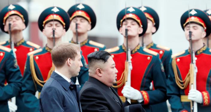 Kim Jong-un/ Vladivostok