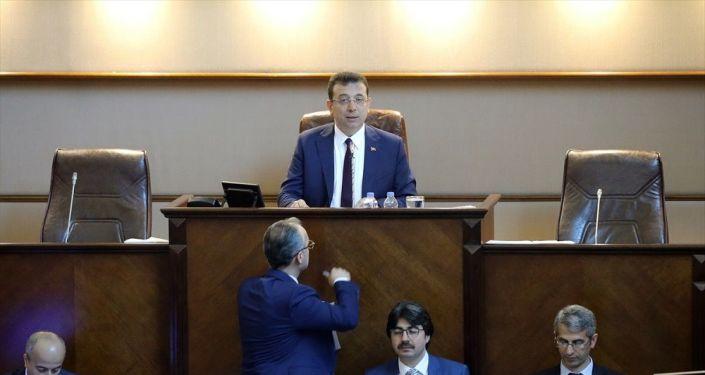 İstanbul Büyükşehir Belediye Meclisi, Ekrem İmamoğlu