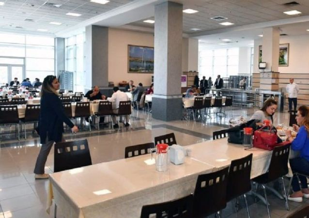 Ankara Büyükşehir Belediyesi yemekhanesi