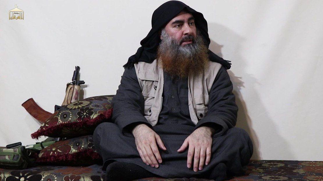 IŞİD lideri Ebubekir El-Bağdadi'ye ait olduğu söylenen yeni görüntüler ortaya çıktı