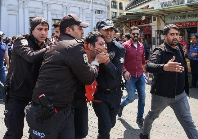 1 Mayıs 2019, İstanbul, gözaltı