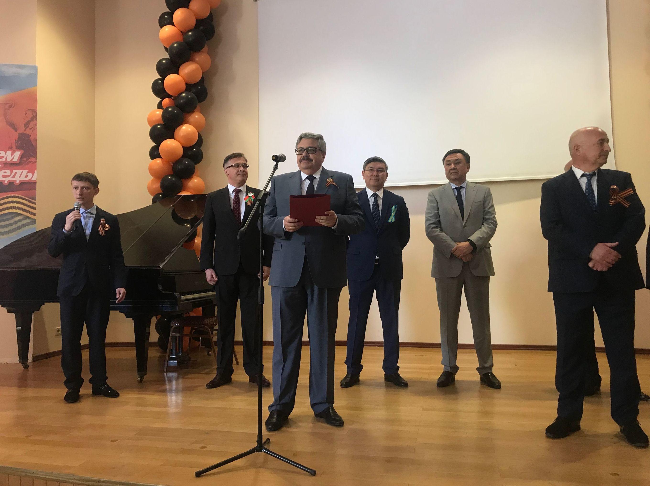 Rusya'nın Ankara Büyükelçiliği'nde Zafer Günü kutlaması