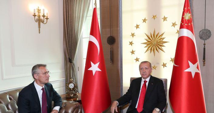 Cumhurbaşkanı Recep Tayyip Erdoğan, NATO Genel Sekreteri Jens Stoltenberg