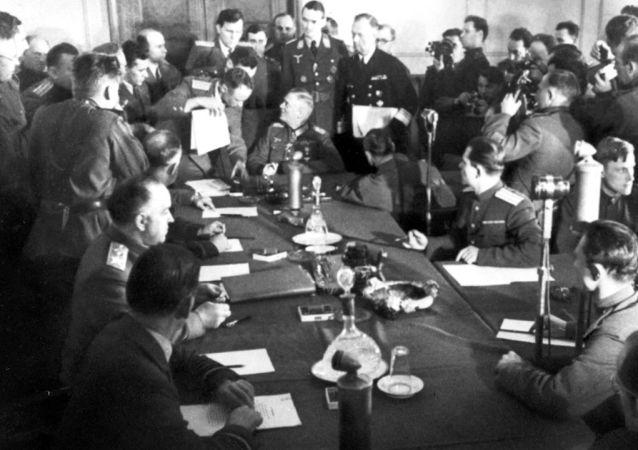 8 Mayıs 1945: Nazi Almanya'sının teslimiyeti