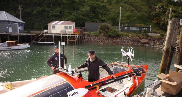 Rus gezgin Konyuhov, Büyük Okyanus'un güneyini kürek teknesi ile geçen ilk insan oldu