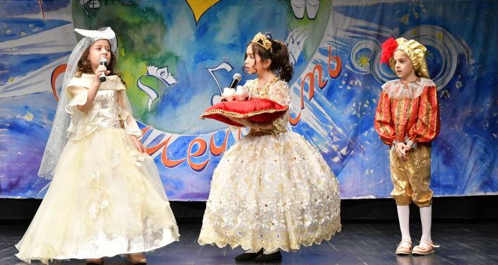 'Hayal Etme Zamanı' festivalinde çocuklar birçok alanda yeteneklerini gösterdiler.