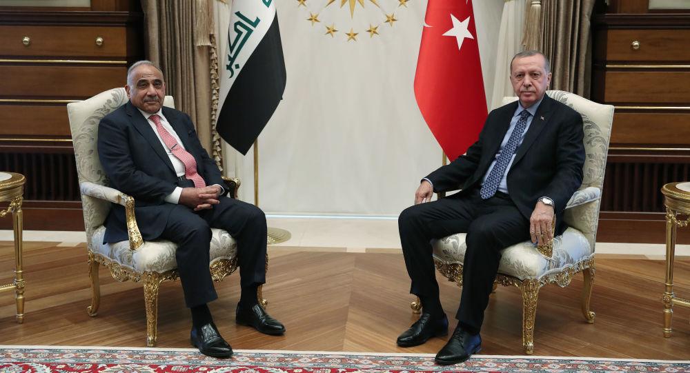 Cumhurbaşkanı Recep Tayyip Erdoğan - Irak Başbakanı Adil Abdulmehdi