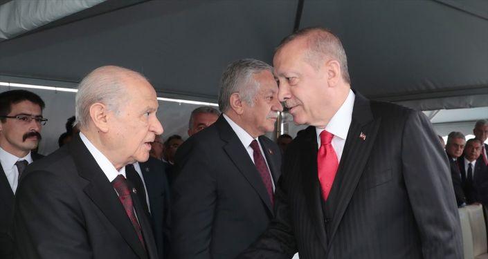 Erdoğan ve MHP lideri Bahçeli