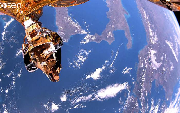 Rusya'da geliştirilen uydu, yeryüzünü ilk kez 4K video teknolojisiyle görüntüledi