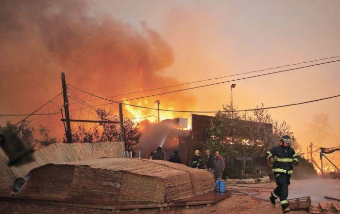 Batı Şeria'da sıcak hava sebebiyle 147 yangın çıktı