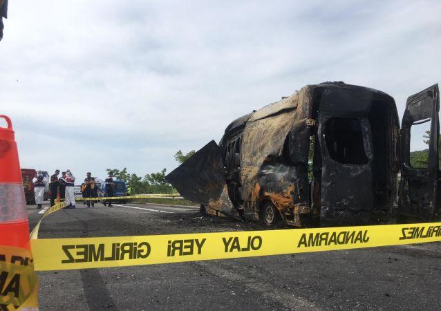 Silivri'de yanan ambulansta 3 aylık bebek hayatını kaybetti