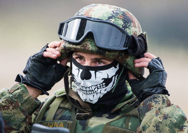 Sırp askeri