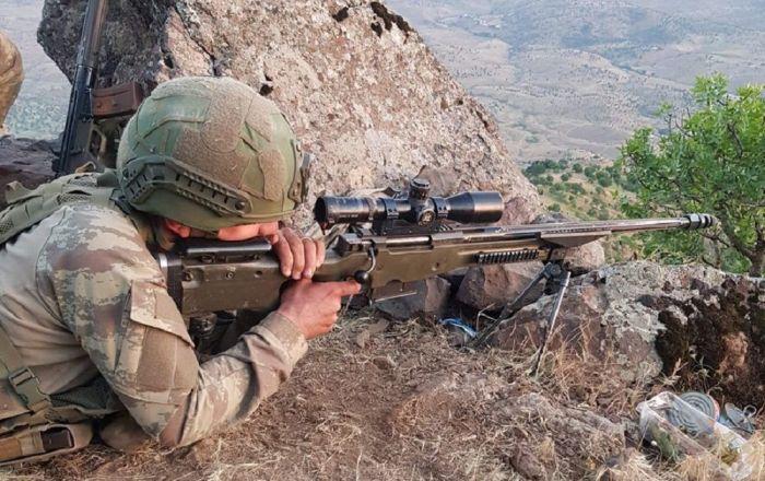 MSB: Irak'ın kuzeyinde 7 PKK'lı etkisiz hale getirildi