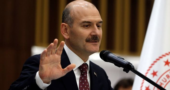 İçişleri Bakanı Süleyman Soylu, Bakanlık personeliyle iftar programında bir araya geldi.