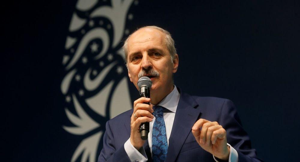 AK Parti Genel Başkanvekili Numan Kurtulmuş, İstanbul Büyükşehir Belediyesi'nin (İBB) iştirak şirketlerinden İstanbul Personel Yönetim AŞ'nin (İSPER) iftar programına katıldı.