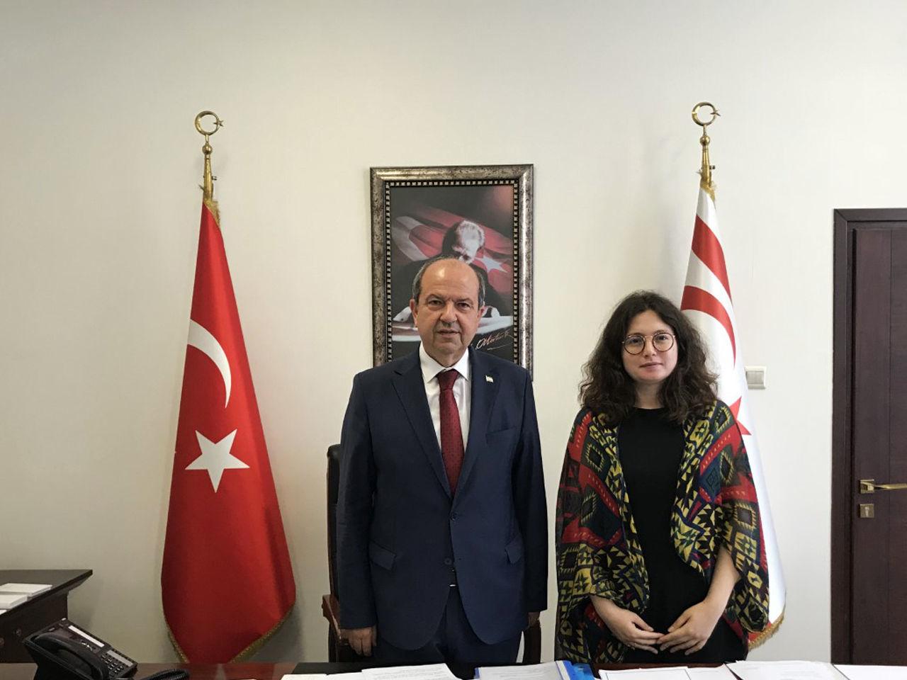 Kuzey Kıbrıs Başbakanı Ersin Tatar Sputnik'in sorularını yanıtladı.