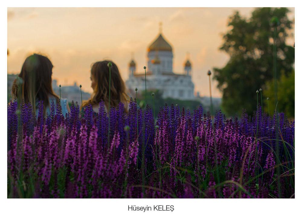 Hüseyin Keleş'in  başkent Moskova'da çektiği 'Muzeyon' isimli fotoğraf.