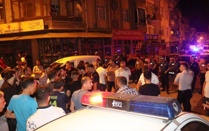 Elazığ'da gerginlik: 2 Suriyeli yaralandı