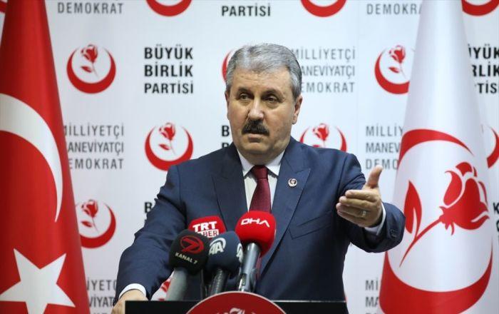 Destici: Türkiye daha da güçlenmesin diye S-400 anlaşmasına karşı çıkıyorlar
