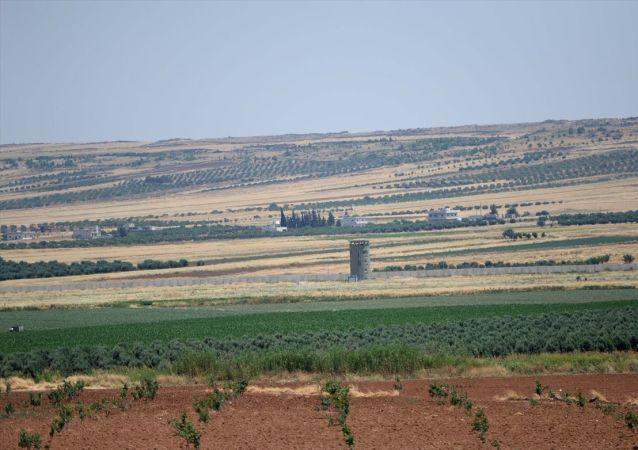 Kilis- Sınır hattı