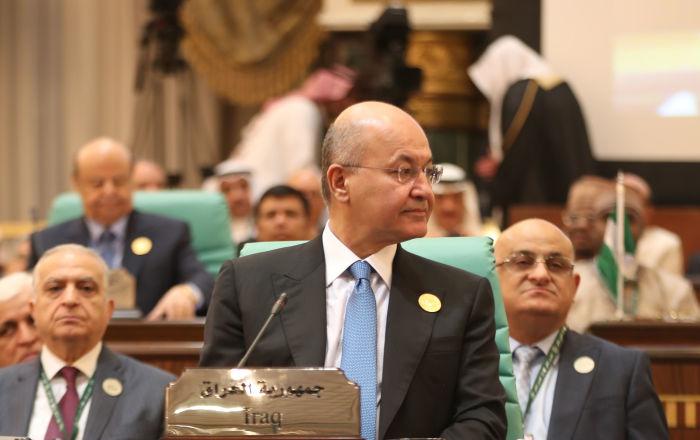 Irak Cumhurbaşkanı Salih'ten Suriye açıklaması