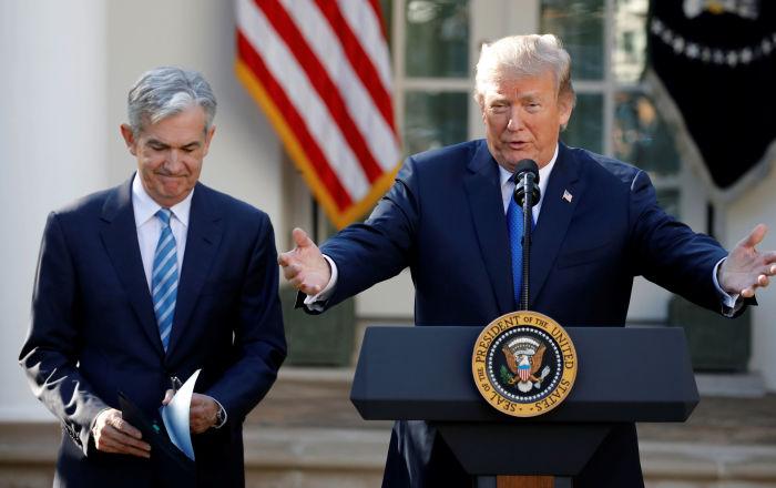 ABD Başkanı Trump, FED Başkanı Powell'ı görevden alabileceğini ima etti