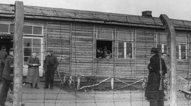 Hollanda'nın Vught kentinde yer alan bir Alman toplama kampı