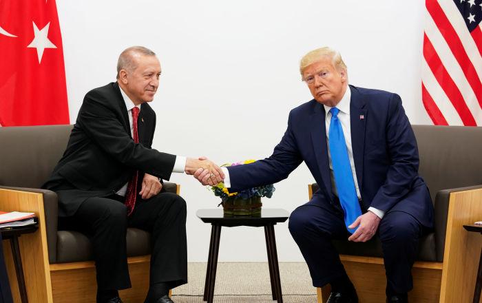 Senatörler yaptırım için bastırıyor ama WSJ'ye göre Trump, Erdoğan'a bu konuda güvence verdi