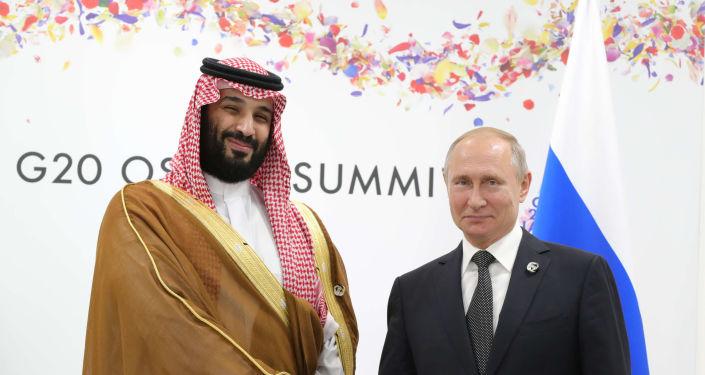 Vladimir Putin- Muhammed bin Selman