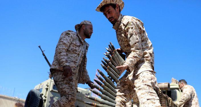 Libya Ulusal Mutabakat Hükümeti güçleri