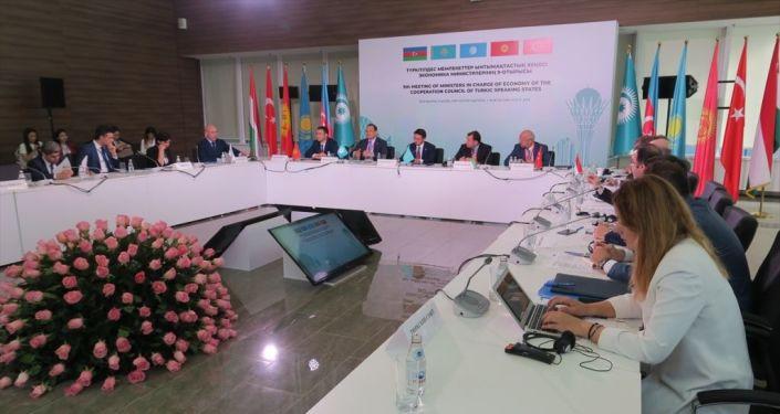 Türk Dili Konuşan Ülkeler İşbirliği Konseyi Ekonomiden Sorumlu Bakanlar 9. Toplantısı-Kazakistan