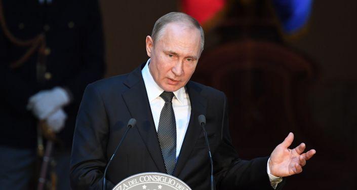 Vladimir Putin, İtalya