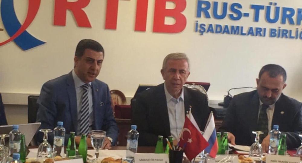 Ankara Büyükşehir Belediye Başkanı Mansur Yavaş, Rusya'yı ziyaret etti.