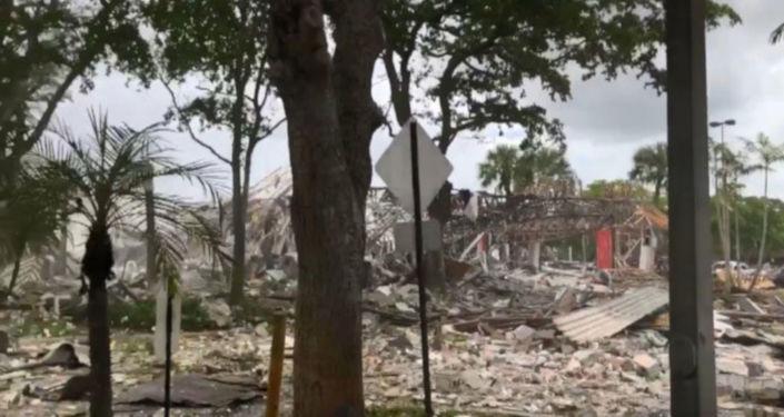 ABD'ninFloridaeyaletinin Plantation bölgesinde bir alışveriş merkezinde bir patlamanın meydana geldiği öğrenildi.