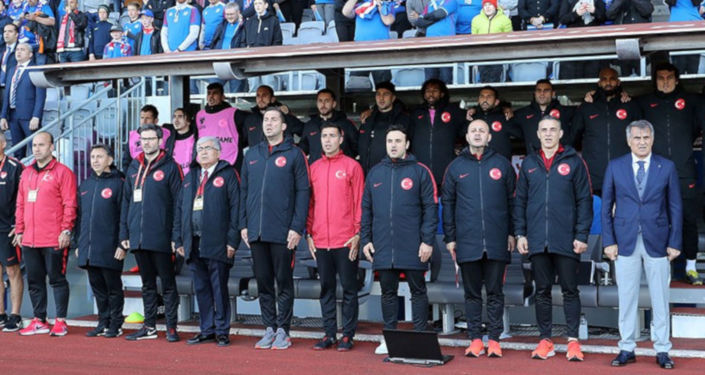 A Milli Futbol Takımı Teknik Direktörü Şenol Güneş'in yardımcılarından Tayfur Havutçu görevinden istifa etti.
