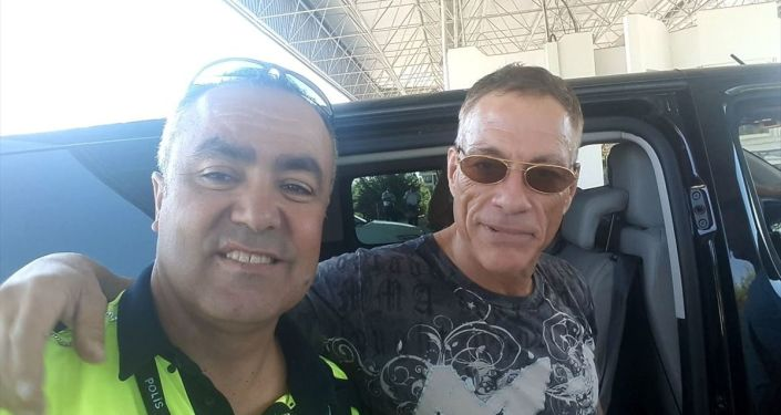 Dünyaca ünlü aktör Jean Claude Van Damme, Bodrum ilçesine geldi.
