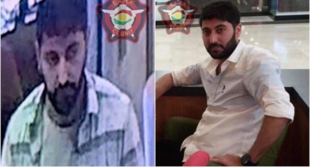 Erbil Emniyet Müdürlüğü, Konsolosluk görevlisini hedef alan saldırının baş şüphelisinin 1992 Diyarbakır doğumlu Mazlum Dağ olduğunu bildirdi
