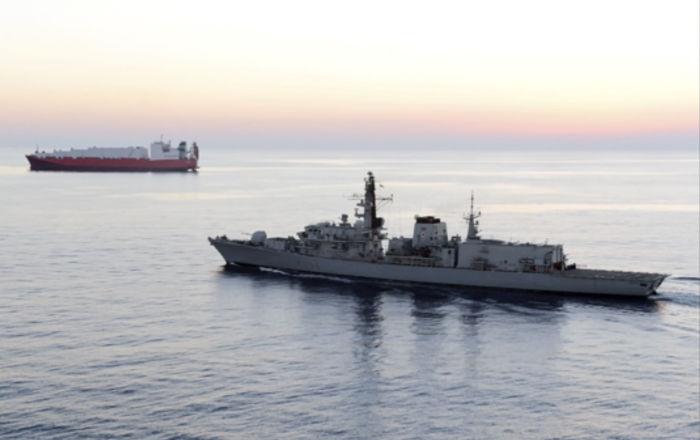 İran devlet televizyonu, el konulan İngiliz tankerindeki mürettebatın görüntülerini yayınladı
