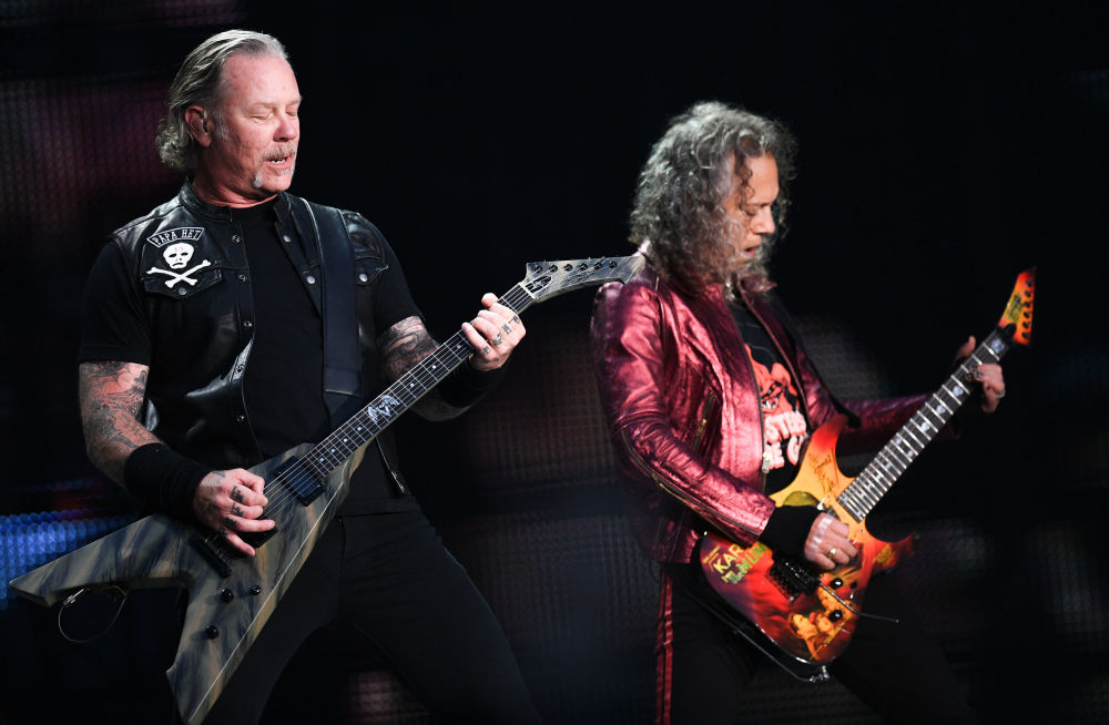 Metallica'dan Moskova'da Rusça performans