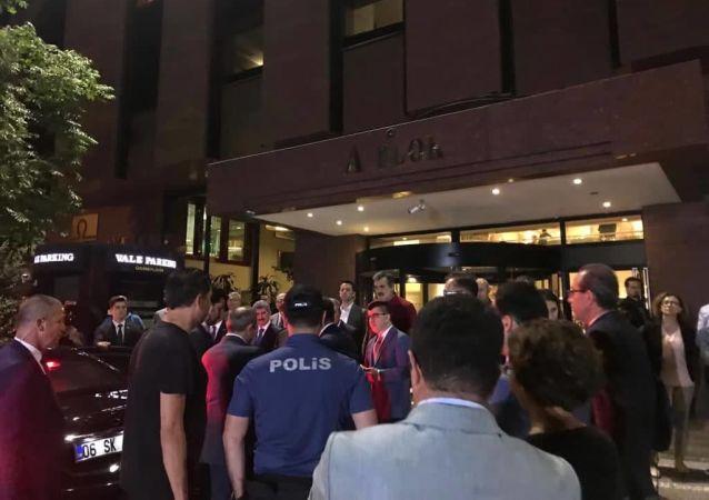Belarus Büyükelçiliği İdari İşler Müsteşarı Alexander Poganshev'e saldırı