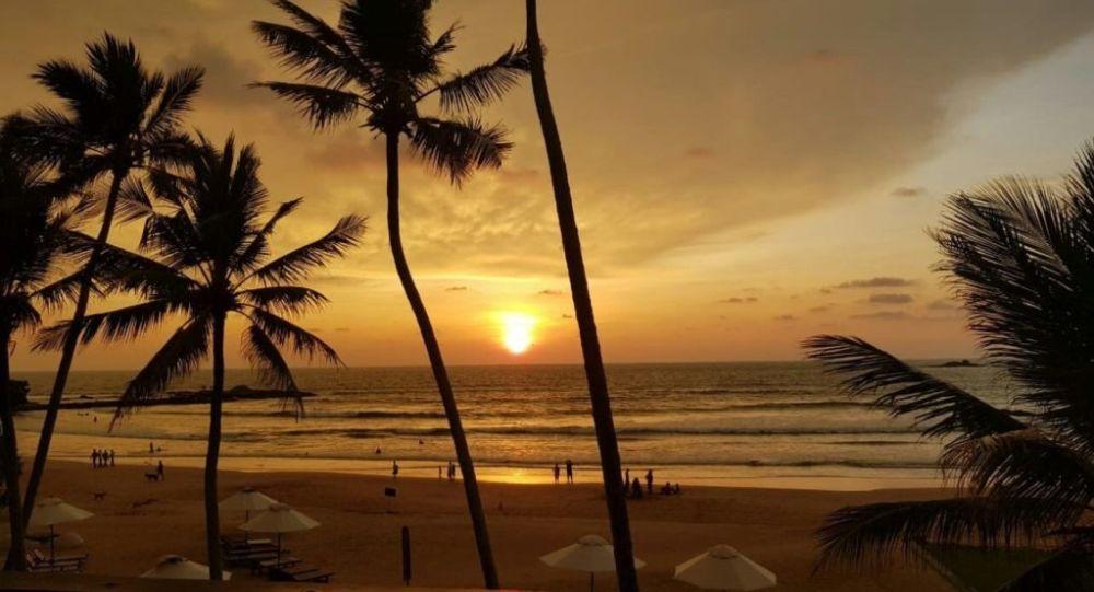 Bentota Plajı - Sri Lanka