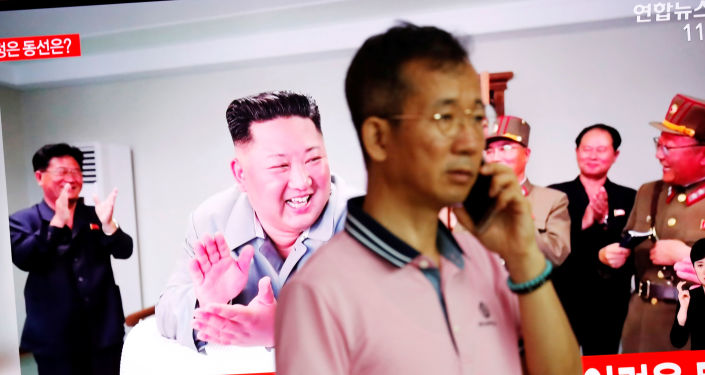 Kuzey Kore, dün fırlattığı füzelerin yeni çoklu roket fırlatma sisteminin ilk denemesi olduğunu açıkladı.