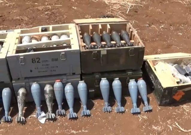 Suriye ordusu Hama kırsalında cihat mobil ve çeşitli askeri teçhizat ele geçirdi