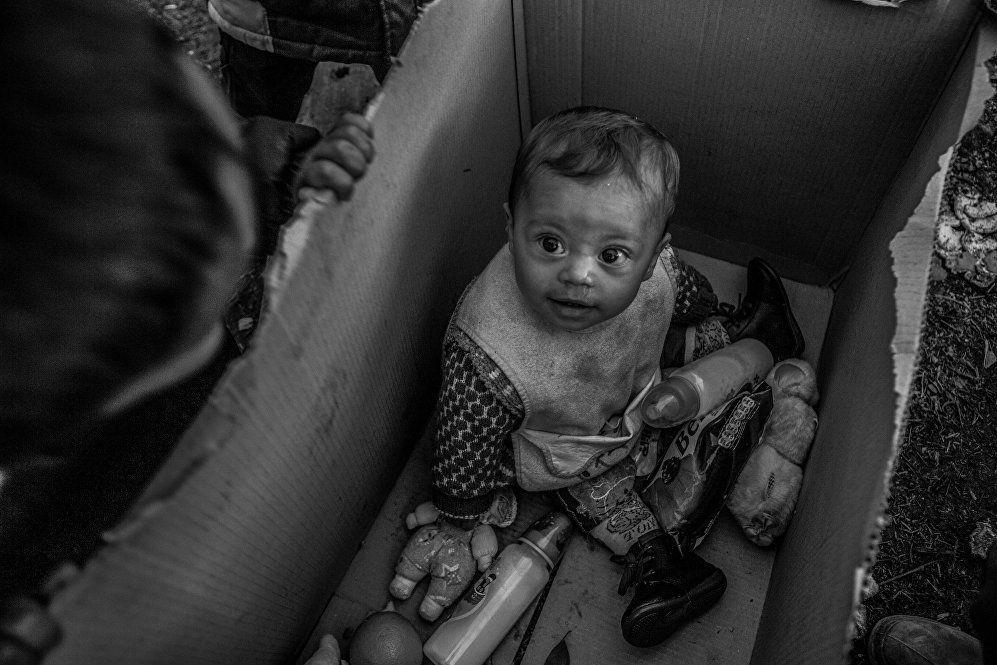 Uluslararası Andrey Stenin Fotoğrafçılık Ödülleri yarışmasına Yunanistan'dan katılan Anna Pantelia, Yunanistan'ın Idomeni şehrindeki mülteci kamplarının zor şartlarını fotoğrafladığı çalışmasıyla 2017 yılının ödülünü kazananlardan birisi oldu. Aynı zamanda Uluslararası Kızılhaç Komitesi (ICRC) tarafından özel olarak ödüllendirildi.